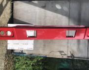 Бампер металлический  HOWO WG1642240002 красный