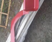 Крыло переднее левое длинное HOWO WG1642230012